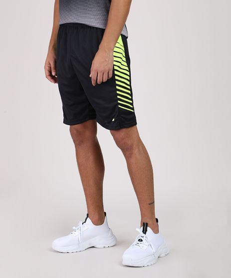 Bermuda-Masculina-Esportiva-Ace-com-Faixa-Neon-Preta-9856345-Preto_1