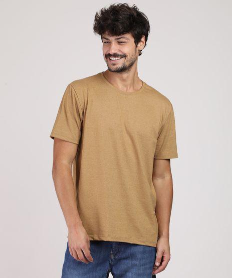 Camiseta-Masculina-Basica-Manga-Curta-Gola-Careca-Bege-9947820-Bege_1