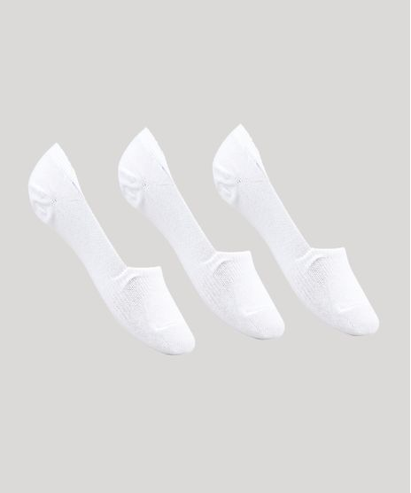 Kit-de-2-Meias-Femininas-Invisiveis-Branco-8860592-Branco_1