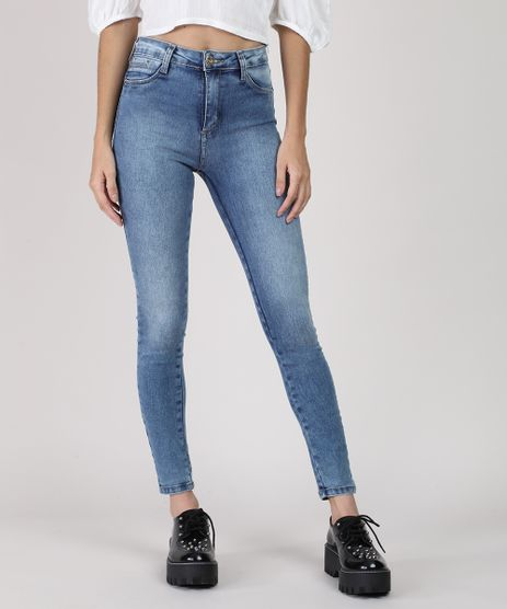Calca-Jeans-Feminina-Sawary-Push-Up-Cigarrete-Cintura-Media-Azul-Medio-9940132-Azul_Medio_1
