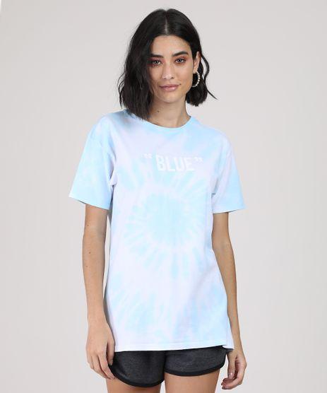 Blusa-Feminina-Ampla-Estampada-Tie-Dye--Blue--Manga-Curta-Decote-Redondo-Azul-Claro-9944451-Azul_Claro_1