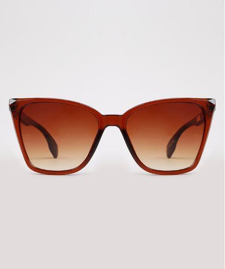Oculos-de-Sol-Gatinho-Feminino-Yessica-Marrom-9932760-Marrom_1