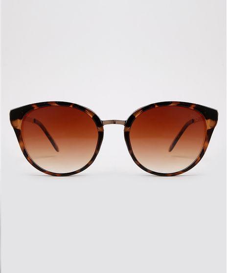 Oculos-de-Sol-Redondo-Feminino-Yessica-Tartaruga-9932729-Tartaruga_1