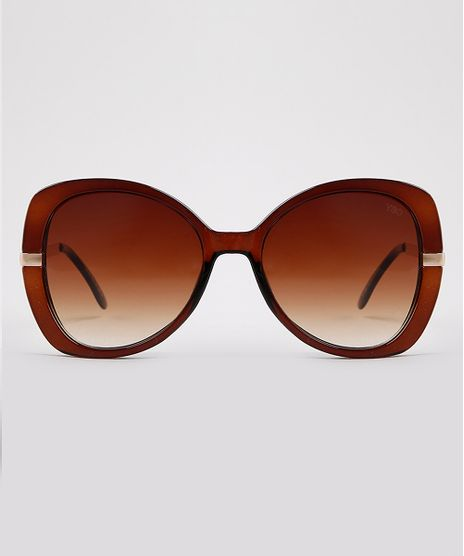 Oculos-de-Sol-Redondo-Feminino-Yessica-Marrom-9932096-Marrom_1