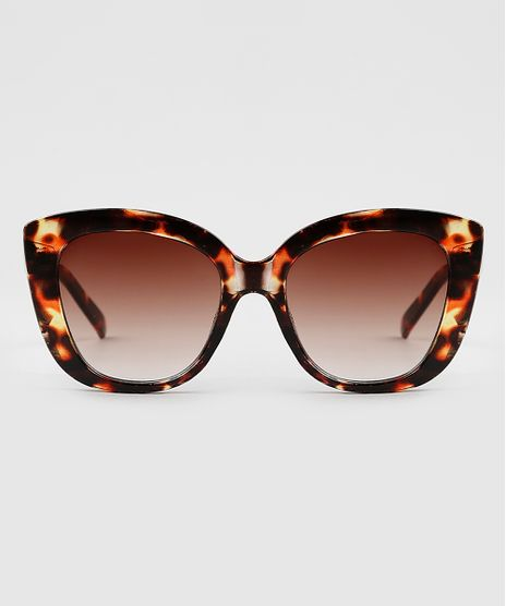 Oculos-de-Sol-Quadrado-Feminino-Yessica-Tartaruga-9945446-Tartaruga_1