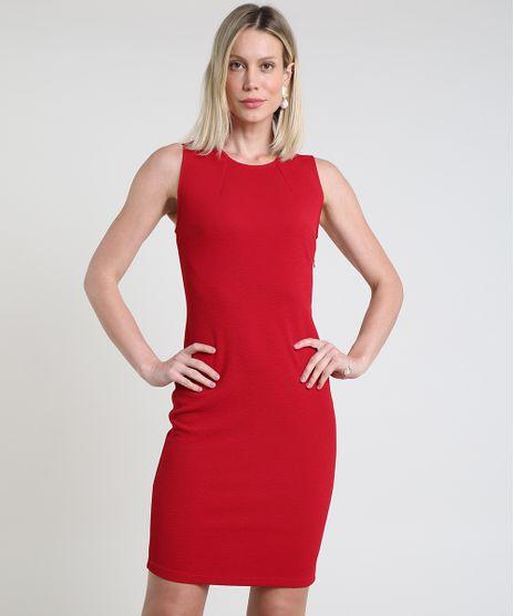 Vestido-Feminino-Basico-Curto-Sem-Manga-Vermelho-9832640-Vermelho_1