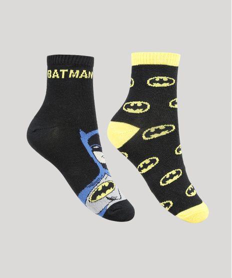 Kit-de-2-Meias-Infantis-Cano-Medio-Batman-Multicor-9932956-Multicor_1