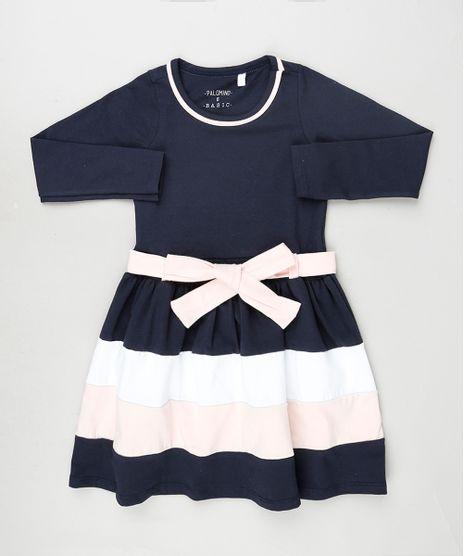 Vestido-Infantil-com-Faixa-Manga-Longa-Azul-Marinho-9922773-Azul_Marinho_1