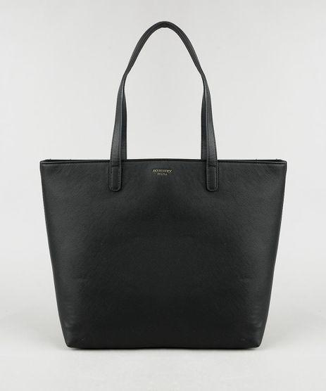 Bolsa-Feminina-Shopper-Grande-com-Alca-de-Ombro-Preta-9915361-Preto_1