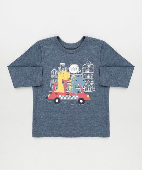 Camiseta-Infantil-Dinossauros-Manga-Longa-Azul-Escuro-Mescla-9943054-Azul_Escuro_Mescla_1