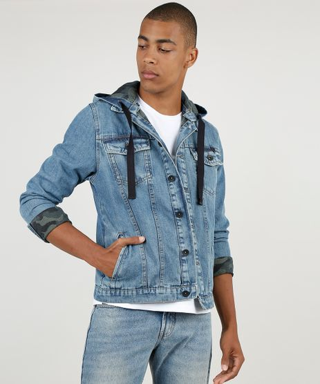 Jaqueta-Jeans-Masculina-BBB-Trucker-com-Bolsos-e-Capuz-Removivel-Azul-Medio-9887625-Azul_Medio_1_1
