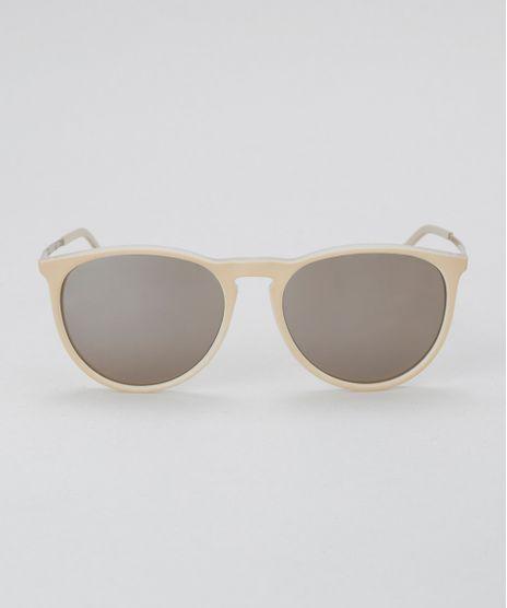 Oculos-Redondo-Feminino-Oneself-Bege-Claro-8628884-Bege Claro 1 c477a3f90e