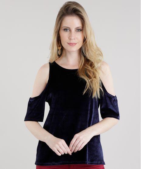 Blusa-Open-Shoulder-em-Veludo-Molhado-Azul-Marinho-8597642-Azul_Marinho_1