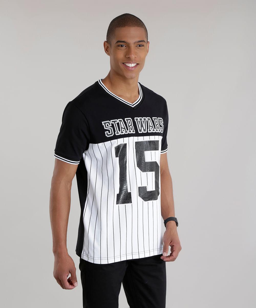 ... Camiseta-Star-Wars-Branca-8654600-Branco 1 a883f1c330ed3