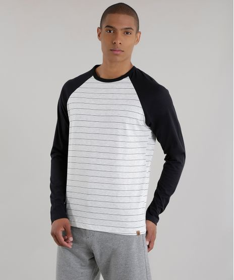 6b2c5c46fac88 Camiseta-Listrada--Preta-8616171-Preto 1