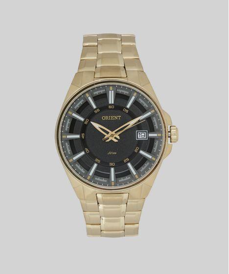 55da7cb5f22 Relógio Analógico Orient Masculino - MGSS1143 P1KX Dourado - cea