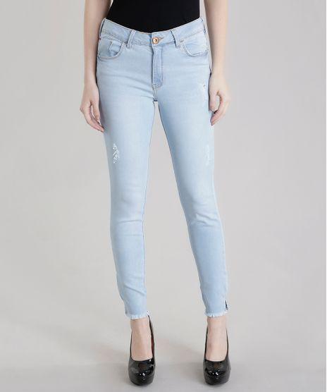 733ea826b Calca-Jeans-Cigarrete-Azul-Claro-8611465-Azul Claro 1
