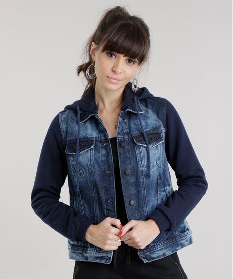 1a719d5c06 Jaqueta-Jeans-com-Moletom-Azul-Medio-8617042-Azul Medio 1 ...