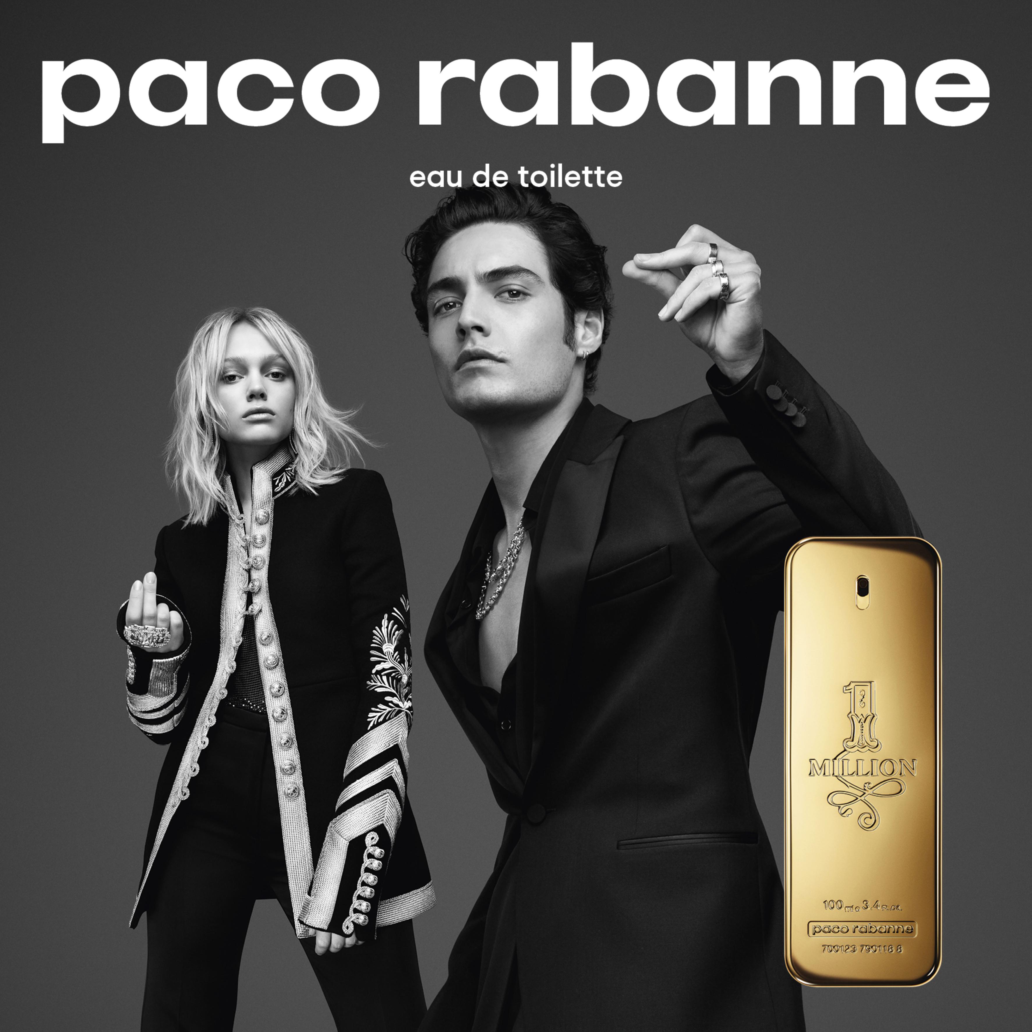 Resultado de imagem para Paco Rabanne 1 Million Poster