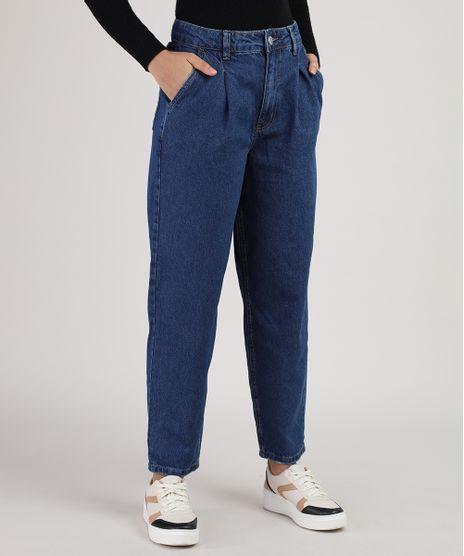 Calca-Jeans-Feminina-Baggy-Cintura-Alta-Azul-Escuro-9946114-Azul_Escuro_1
