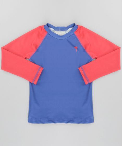 0da095285 Camiseta-com-Protecao-UV-50-Azul-Escuro-8661906- ...