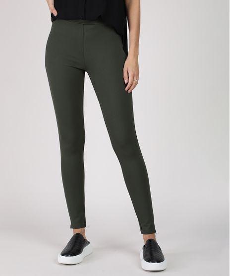 Calca-Legging-Feminina-Cintura-Media-Verde-Militar-9850827-Verde_Militar_1