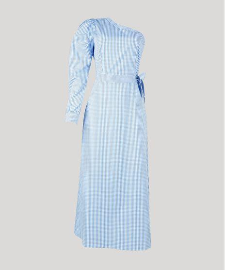 Vestido-Feminino-Mindset-Midi-Um-Ombro-So-Estampado-Xadrez-Vichy-Manga-Bufante-Azul-Claro-9947938-Azul_Claro_1