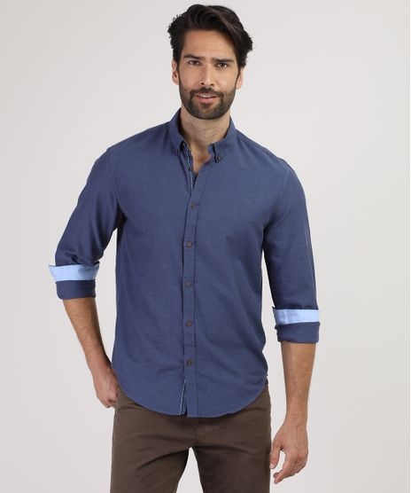 Camisa-Masculina-Comfort-Manga-Longa-Azul-9523389-Azul_1