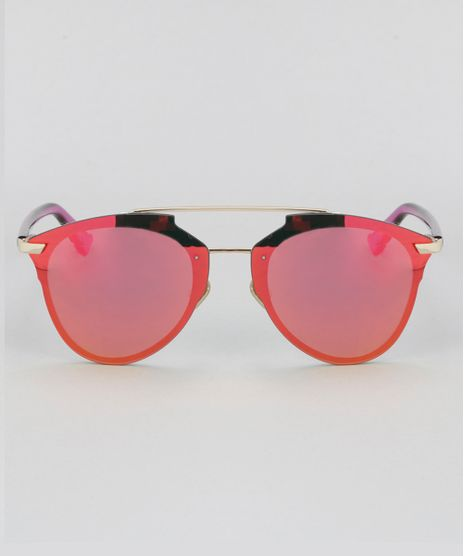 Oculos-de-Sol-Redondo-Feminino-Oneself-Rosa-8732554-Rosa_1
