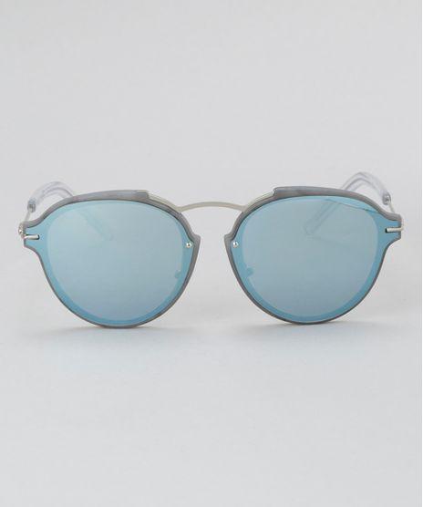 Oculos-de-Sol-Redondo-Feminino-Oneself-Cinza-8732560-Cinza_1
