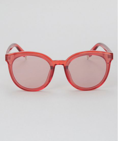 Oculos-de-Sol-Redondo-Feminino-Oneself-Vermelho-8732575-Vermelho_1