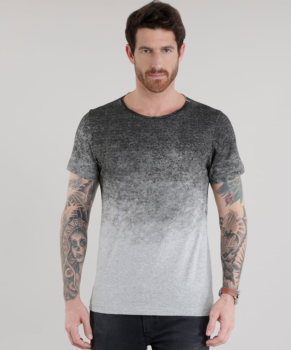 fc2e5e30b ... Camiseta-Estampada-Degrade-Cinza-Mescla-8502866-Cinza Mescla 1
