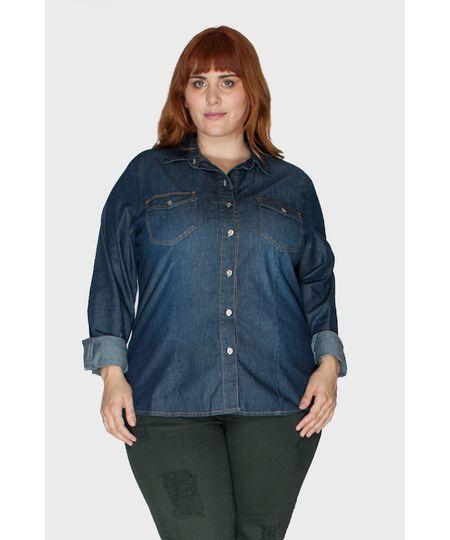 6b463f4ce2 Menor preço em Camisa Jeans Raw Plus Size