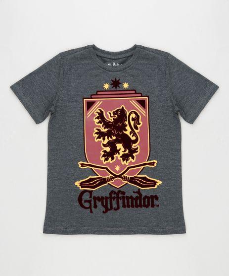 Camiseta-Infantil-Harry-Potter-Manga-Curta--Cinza-Mescla-Escuro-9944005-Cinza_Mescla_Escuro_1