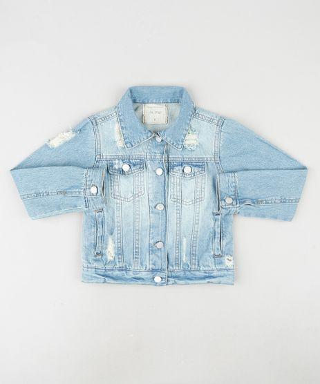 Jaqueta-Jeans-Infantil-com-Rasgos-e-Bolsos-Azul-Medio-9924194-Azul_Medio_1