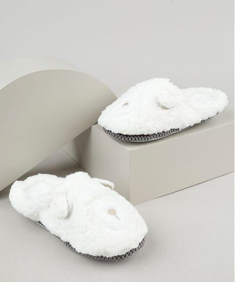 Pantufa-Slipper-de-Pelo-Feminina-Urso-Off-White-9860462-Off_White_1
