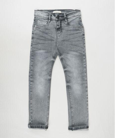 Calca-Jeans-Infantil-com-Bolsos-Cinza-Escuro-9886337-Cinza_Escuro_1