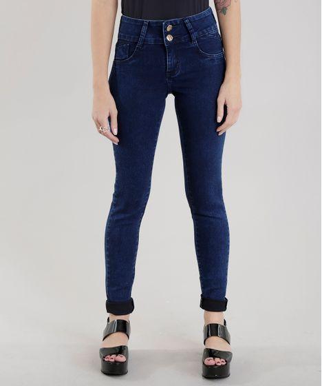 350f408200 cea · Moda Feminina · Calças. Calca-Jeans-Super-Skinny-Sawary-Azul-Medio-8703648-  ...
