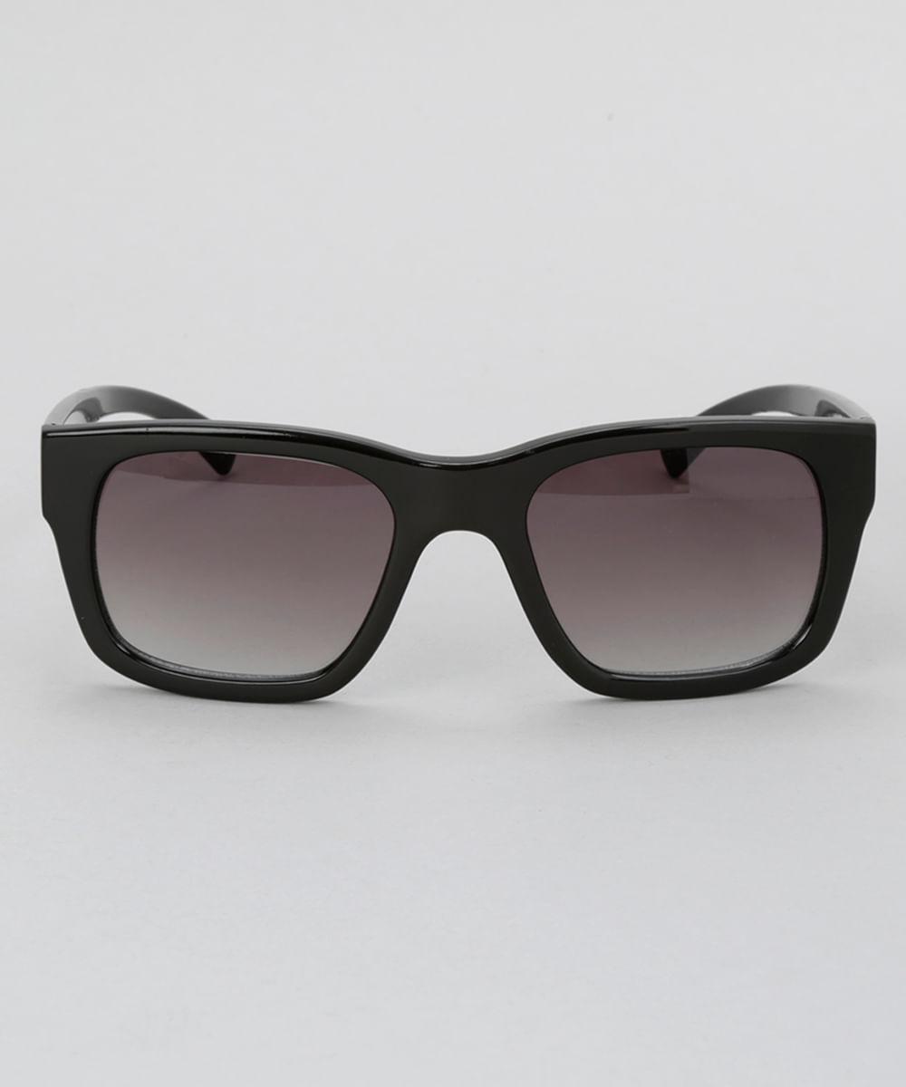 87239236d578b Óculos de Sol Quadrado Masculino Oneself Preto - Único