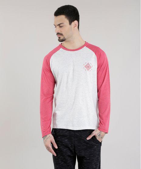 Camiseta-com-Estampa-Etnica-Cinza-Mescla-Claro-8616158-Cinza_Mescla_Claro_1