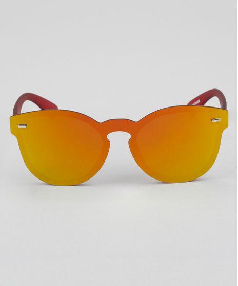 Oculos-de-Sol-Espelhado-Redondo-Feminino-Oneself-Vinho-8744408-Vinho_1