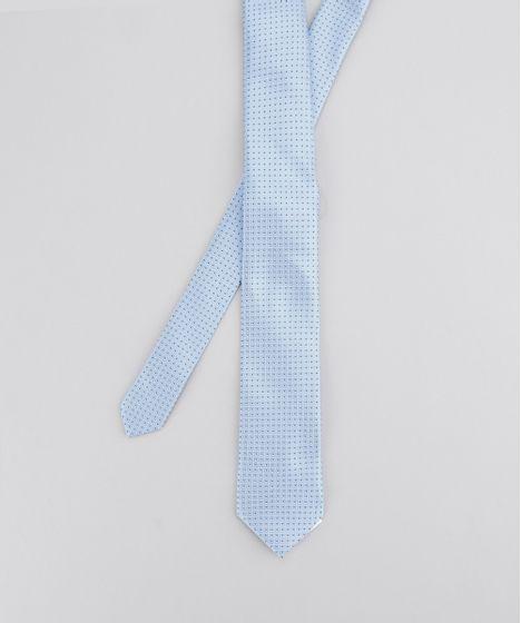 0a8b4cf0b Gravata-em-Jacquard-Estampada-Azul-Claro-8594168-Azul Claro 1 ...