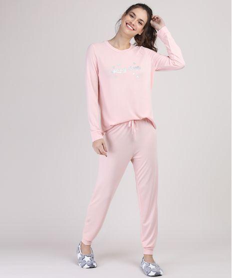 Pijama-Feminino--Lazy-Days--Manga-Longa-Rosa-9900221-Rosa_1