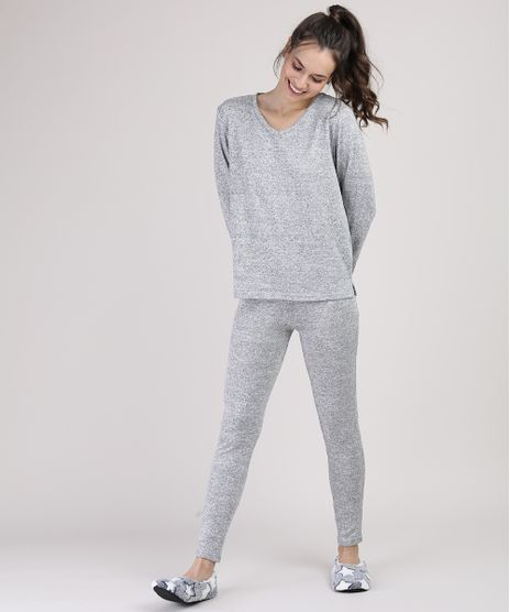 Pijama-Feminino-Manga-Longa-Cinza-Mescla-9900219-Cinza_Mescla_1