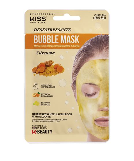 Mascara-Facial-de-Bolhas-Kiss-New-York-Curcuma-Amarela-unico-9948786-Unico_1