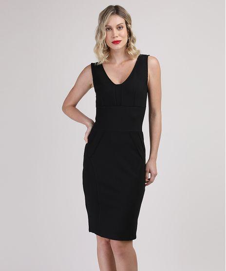 Vestido-Feminino-Curto-com-Recortes-Alca-Larga-Preto-9817742-Preto_1
