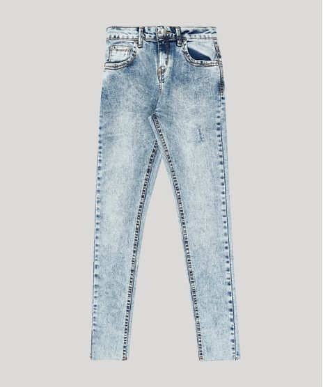 Calca-Jeans-Infantil-Skinny-Marmorizada-Azul-Medio-9906796-Azul_Medio_1