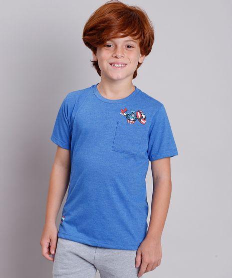 Camiseta-Infantil-Capitao-America-com-Bolso-Manga-Curta-Azul-Medio-9281447-Azul_Medio_1