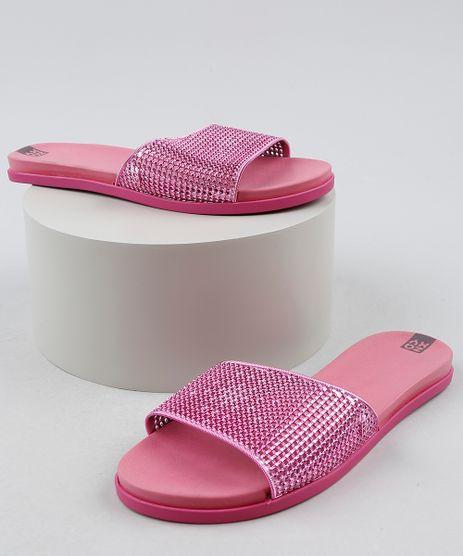 Chinelo-Slide-Feminino-Zaxy-It-Girl-Metalizado-Rosa-Escuro-9941652-Rosa_Escuro_1