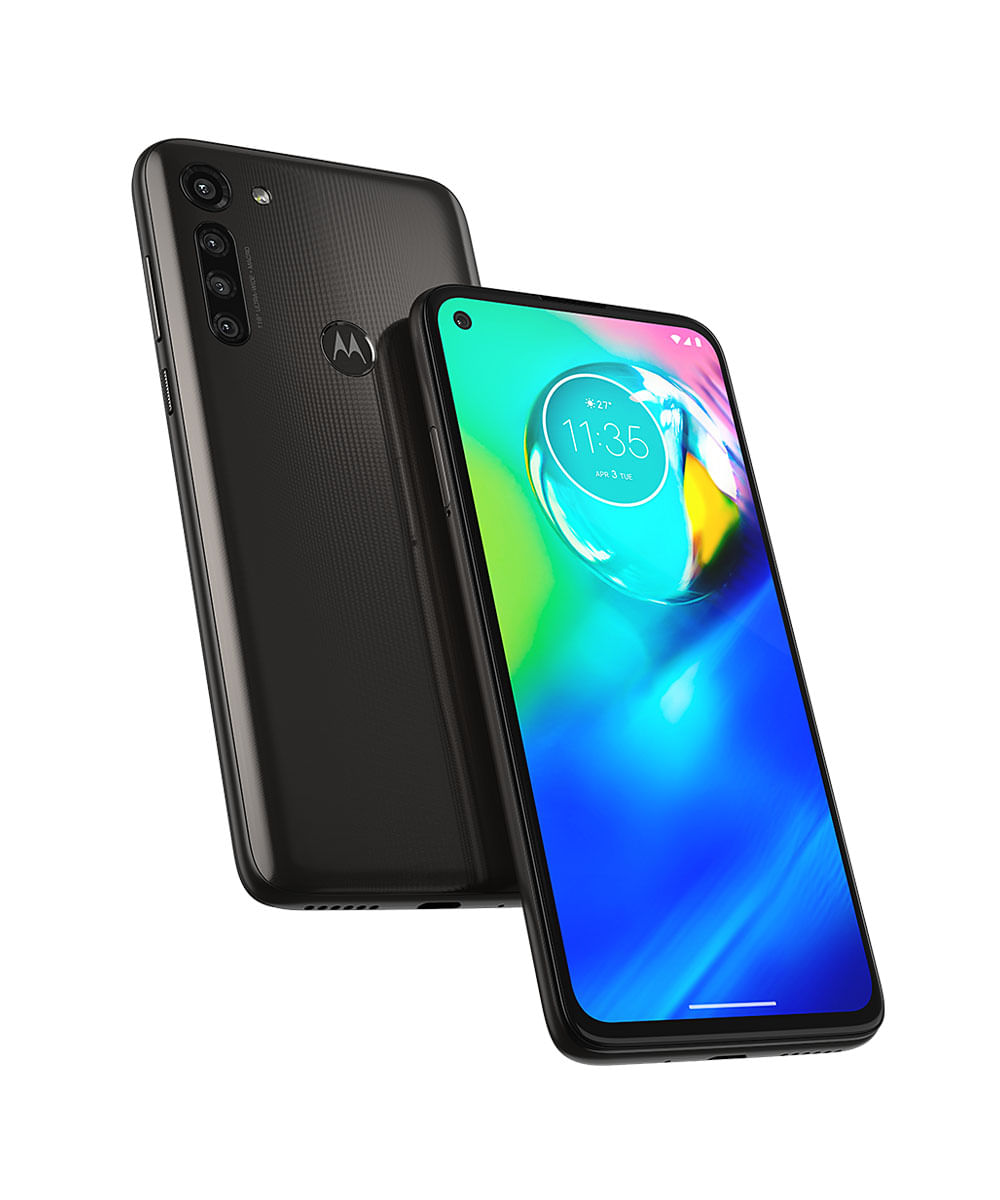 Smartphone Motorola XT2041 Moto G8 Power 64GB Preto Titanium